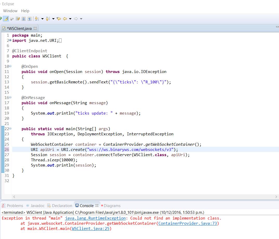 testing java code sample developers community. Black Bedroom Furniture Sets. Home Design Ideas
