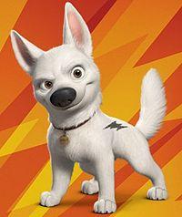 Bolt a superhero dog
