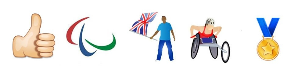 Paralympic emoticons