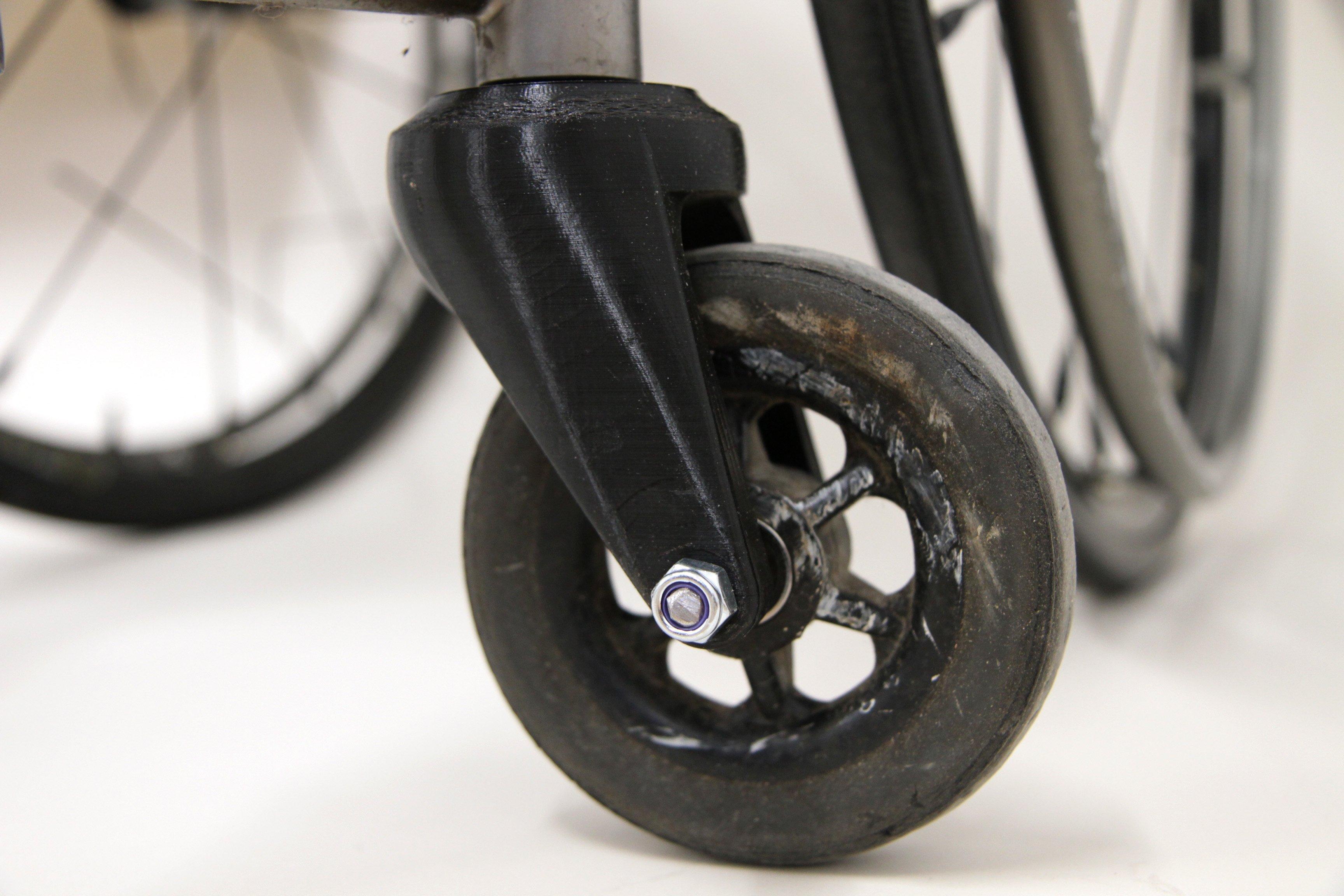 Wheel from a wheelchair