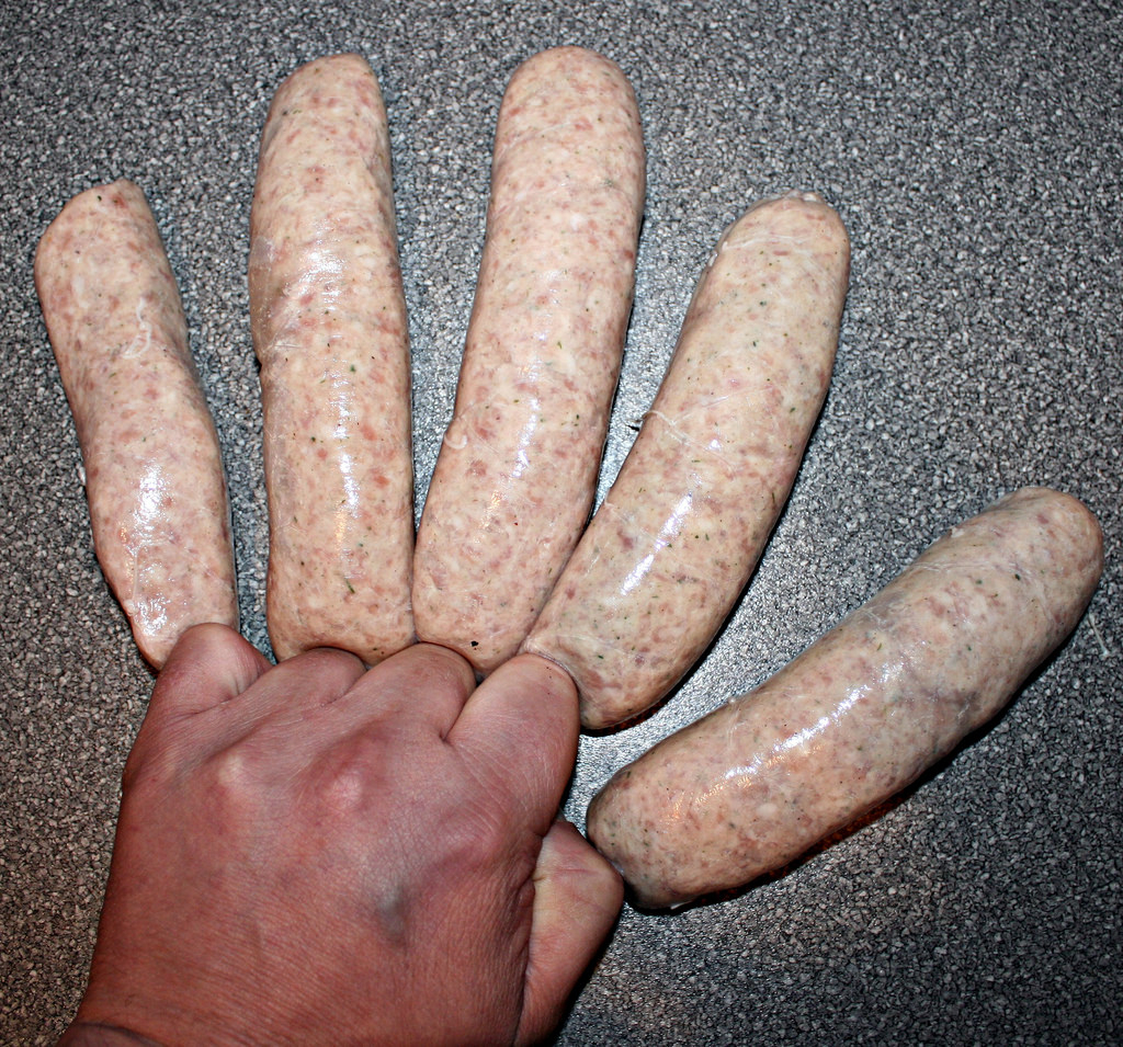 Sausage fingers