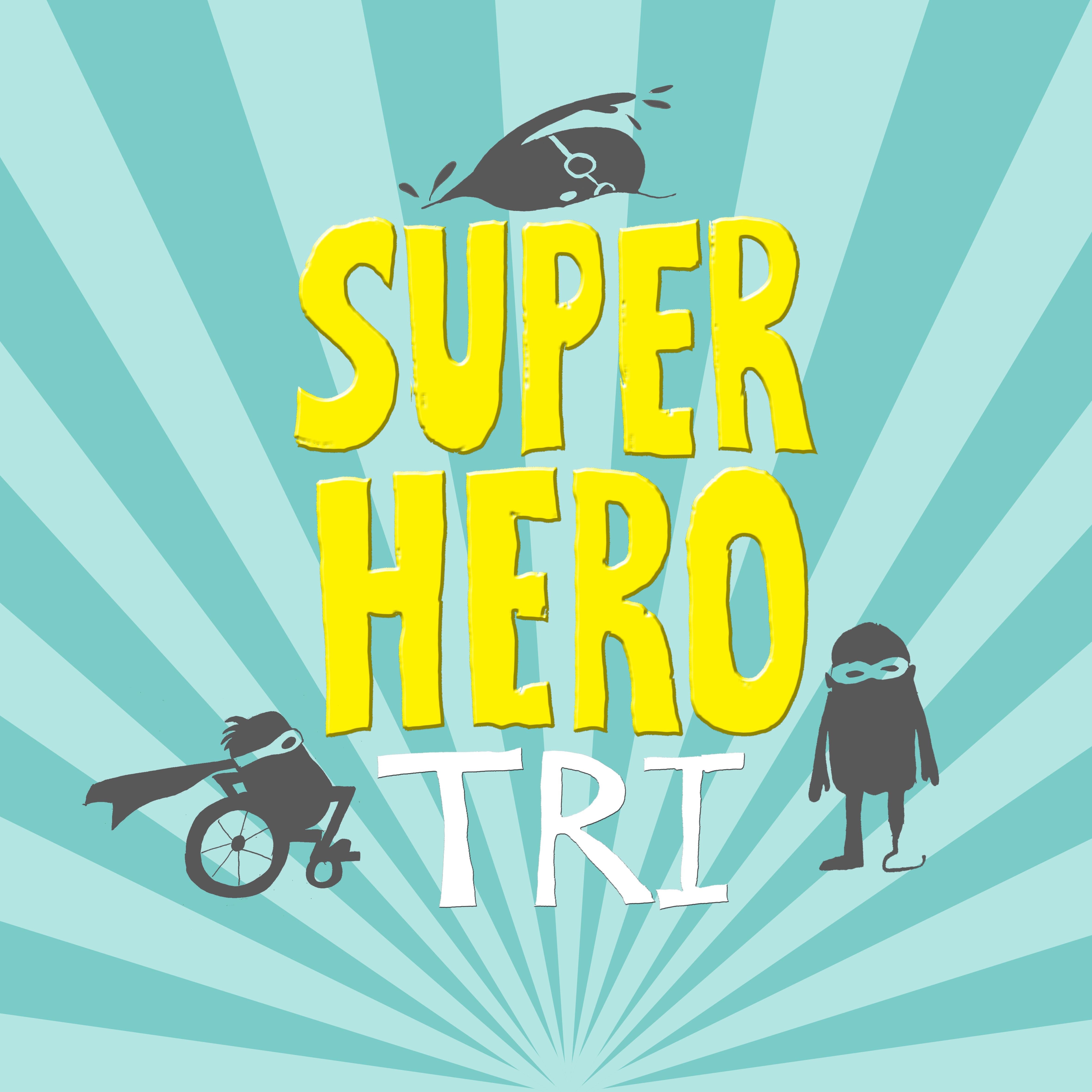 Super Hero Tri logo