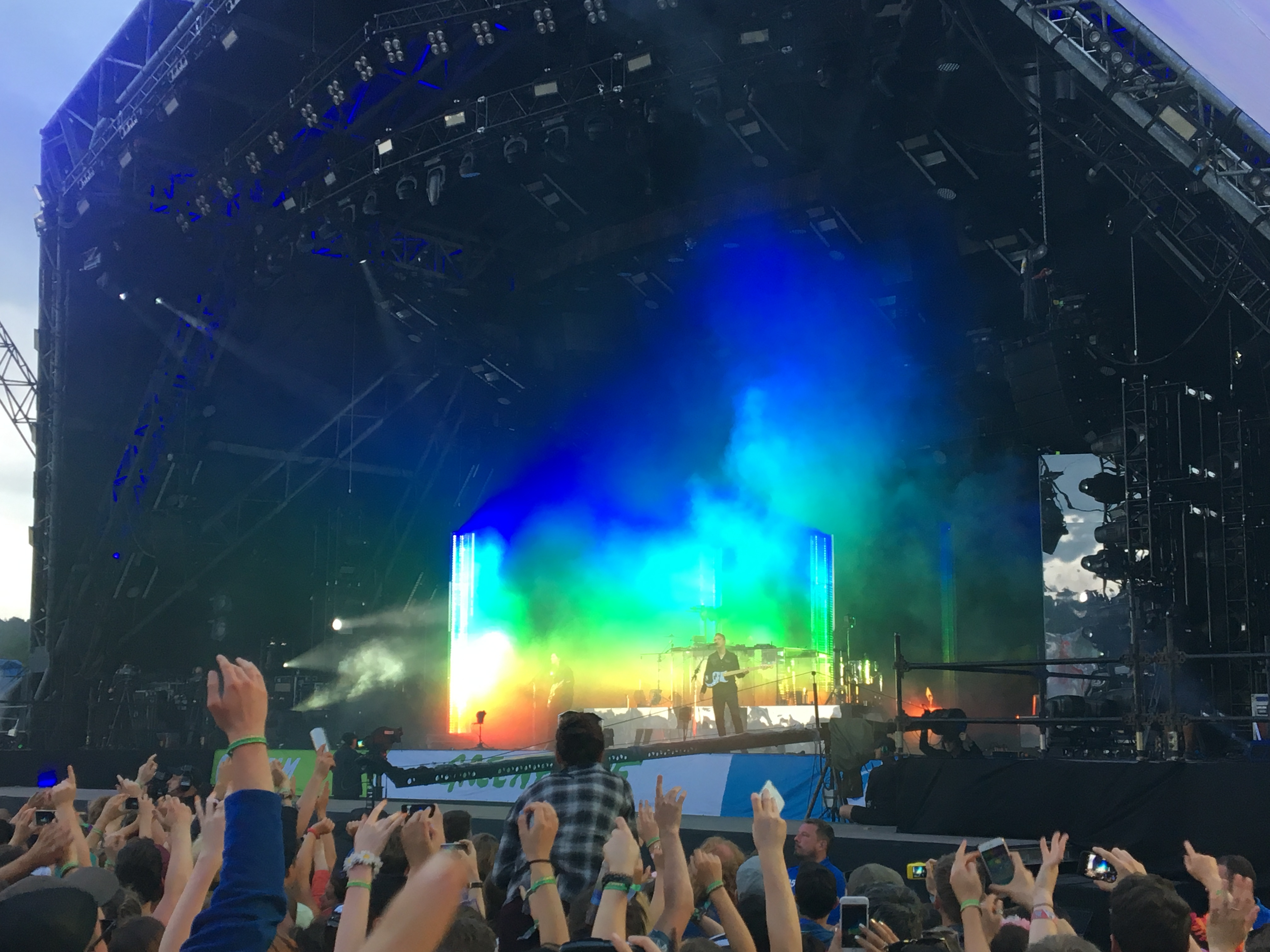 The XX on the Pyramid Stage