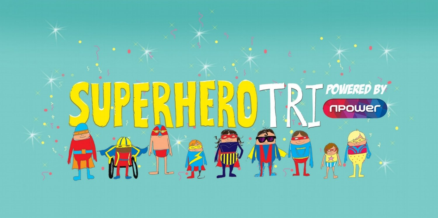 cartoon image of several superheroes in capes