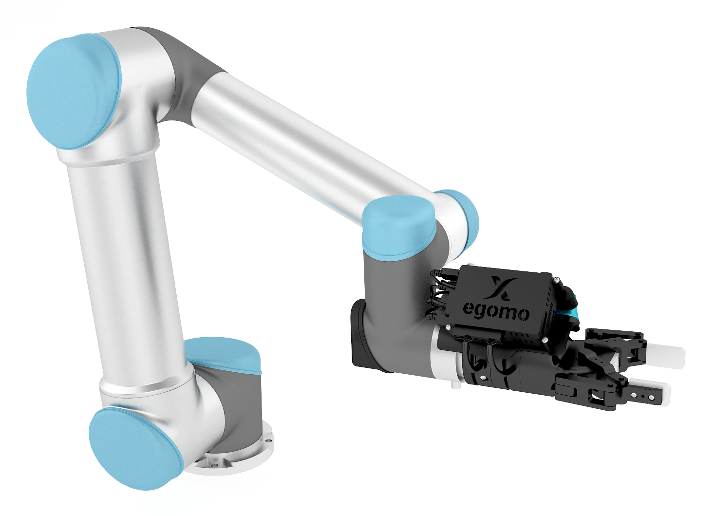 Xamla Egomo Sensorhead for UR5 + Robotiq FT-Sensor & Gripper — DoF