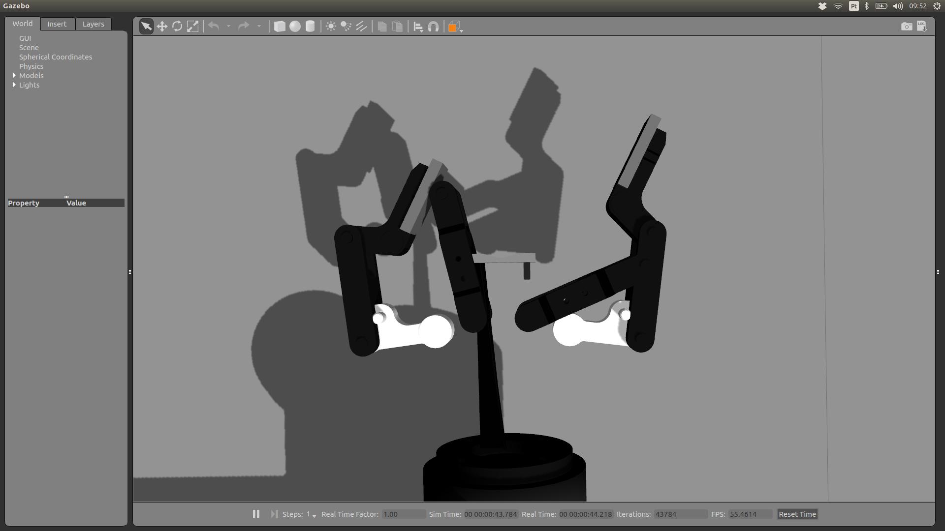 2 Finger Gripper(85) on a Universal Robot 5 — DoF
