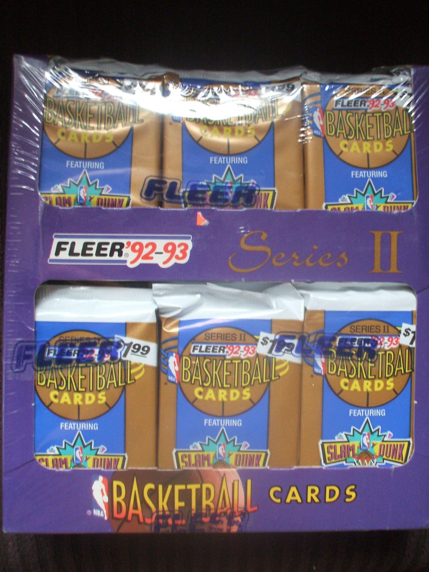 1992 93 Fleer Basketball Magazine Box Break Total D Michael Jordan Is The Hit 210 For