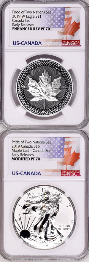 2019 Pride of Two Nations Two-Coin Set Sealed Unopened Ready to Ship