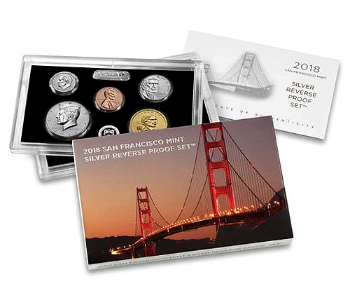2018 Proof Set 1C-!$ 10 Coin Clad New Release