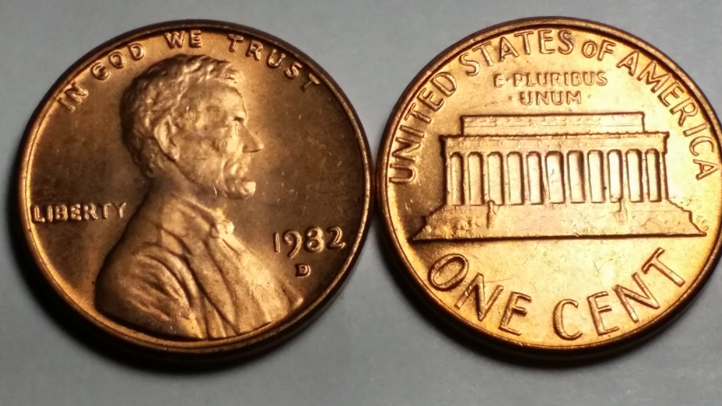 1982-D Lincoln Cents - 3 11g? — Collectors Universe