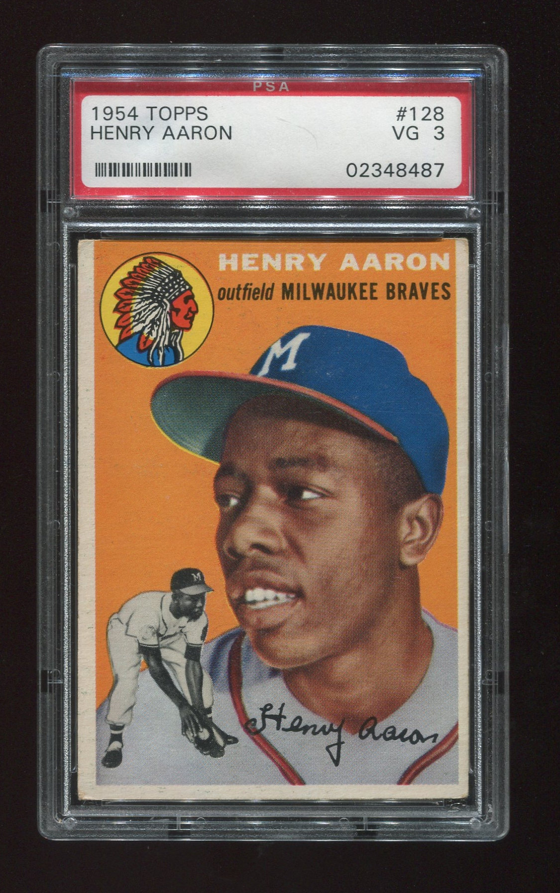 Bought A 1954 Topps Hank Aaron Rookie Card Collectors