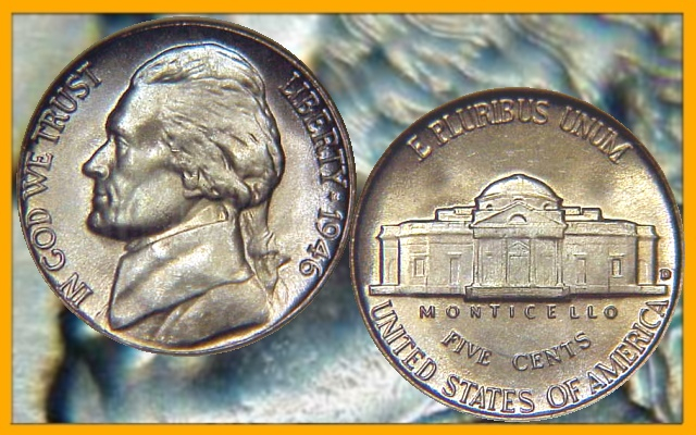 *WOW*  1962-P Proof Jefferson Nickel Great Looking Coin for any Collection