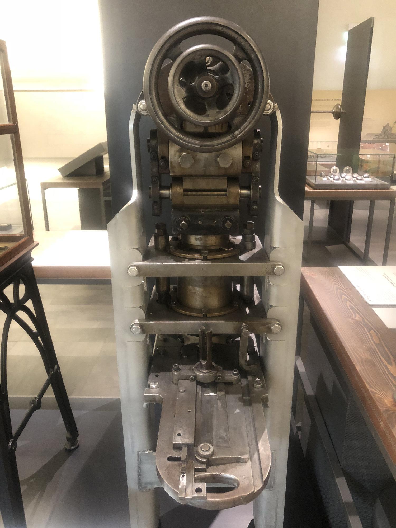Paris Mint Museum: The Presses — Collectors Universe