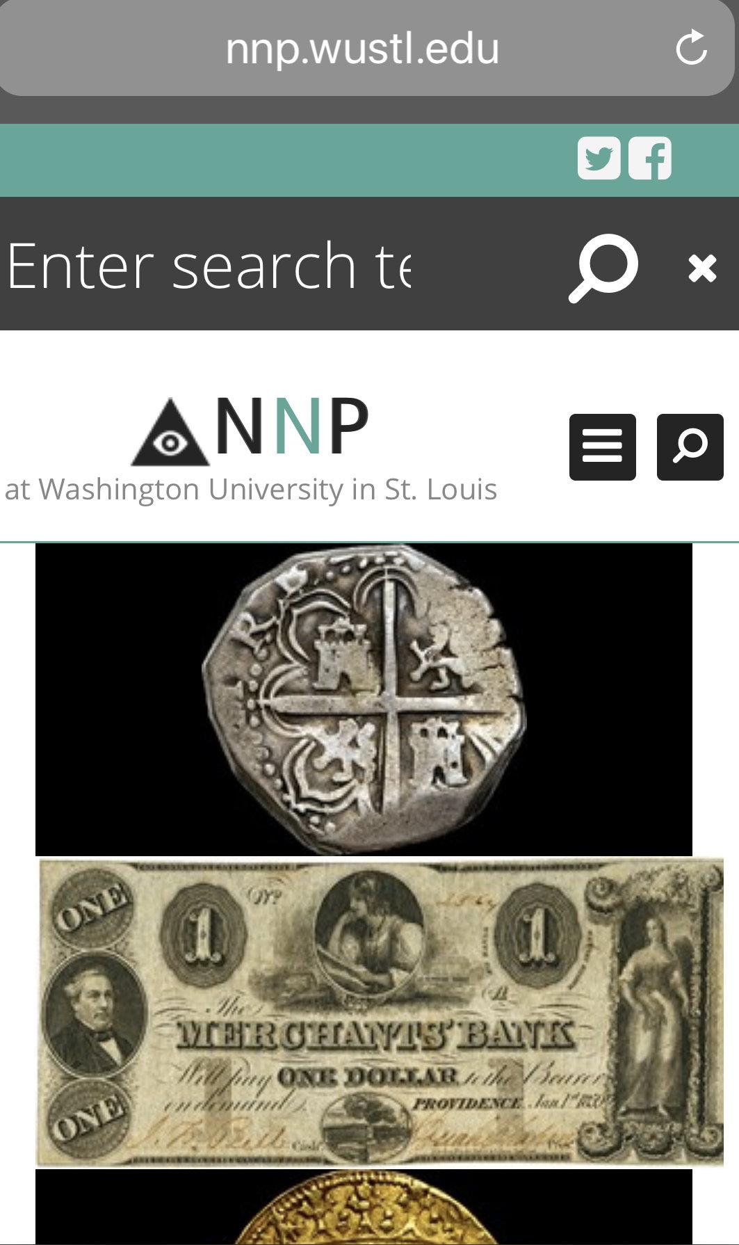 foto de Newman Numismatic Portal (NNP) is off-line. OK now. — Collectors ...
