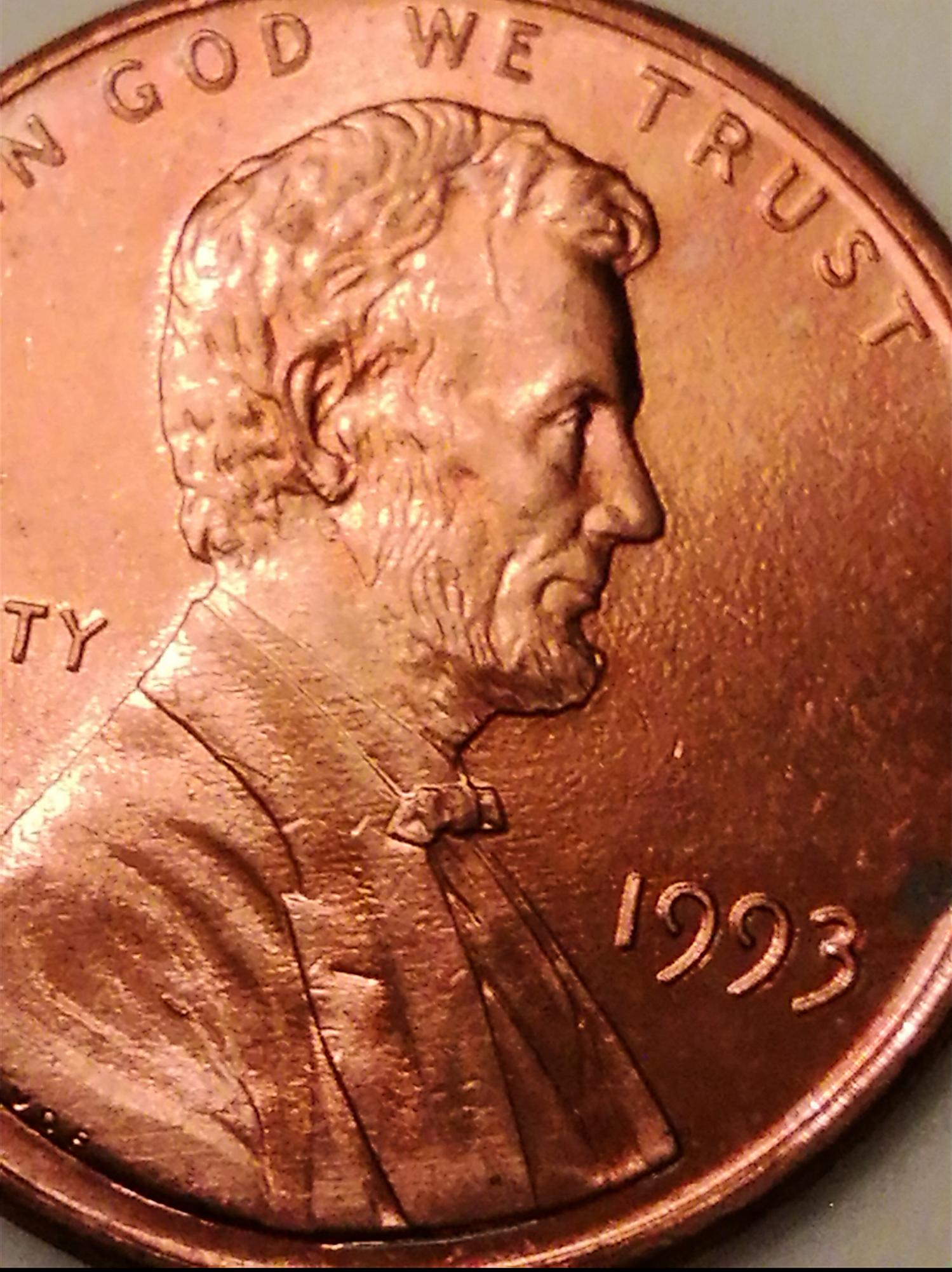 1993 penny error — Collectors Universe