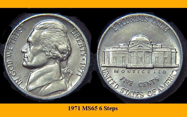 1972 P D  /& 1973 P D  Jefferson Nickels Circulated