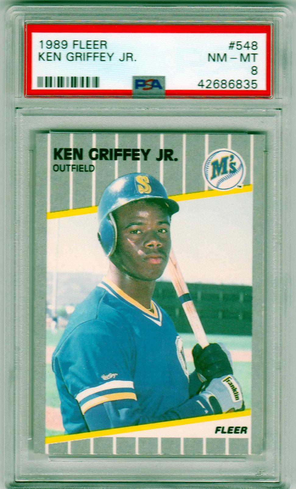 My Psa Submission 1989 Ken Griffey Jr Rookies Collectors