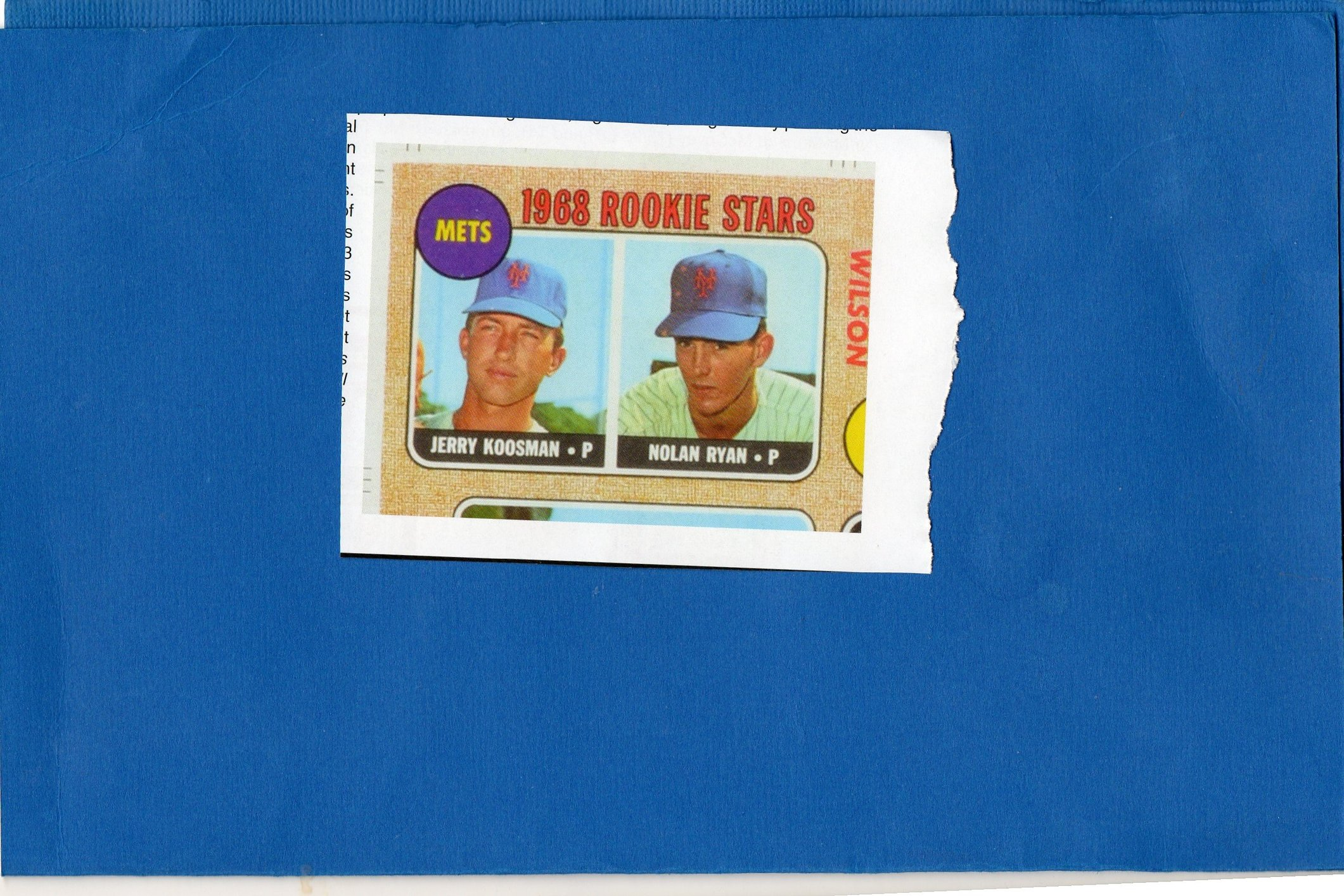 Congrats To Anyone Owning A 1968 Topps Nolan Ryan Rookie