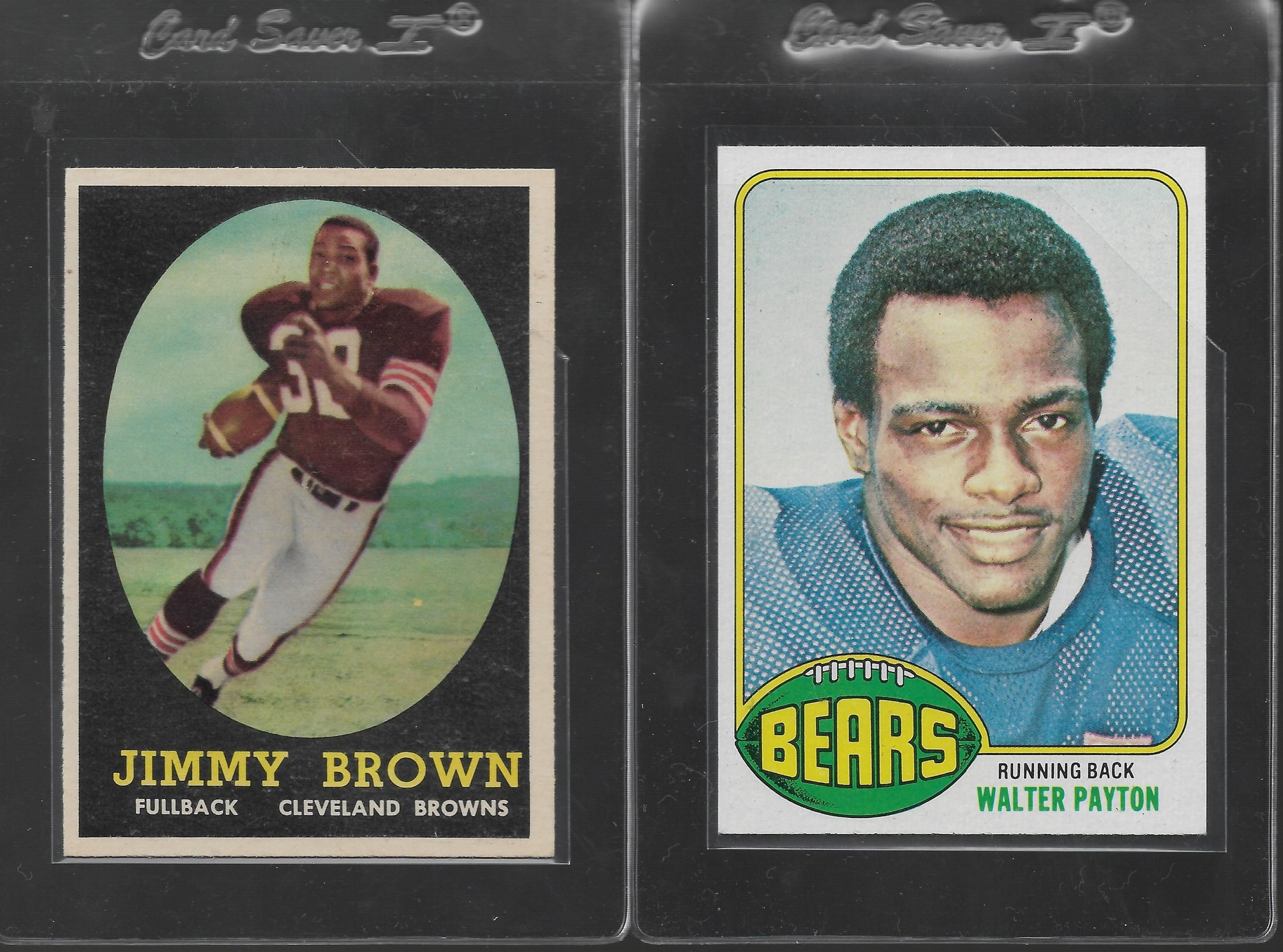 Need Help In Assessing A Few Cards 1958 Jim Brown 1976
