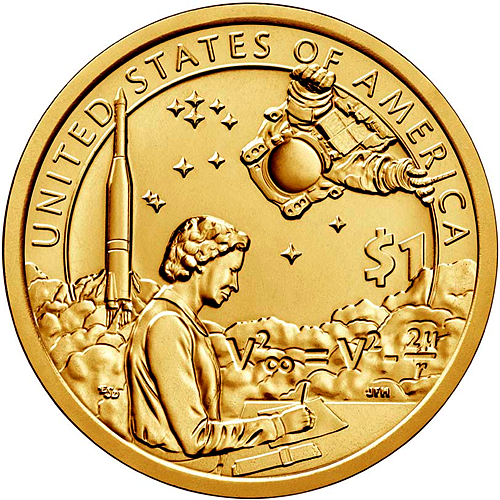 2018 1 Coin DENVER American Innovation Golden Dollars Best Grade $1 US MINT.