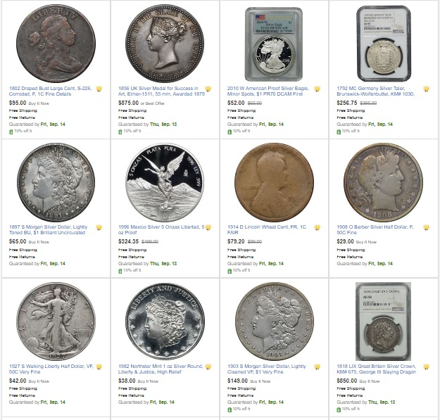 Ebay Many World And Ancient Coins Mostly True Auctions 0 99 Start N R Some Great Deals Collectors Universe