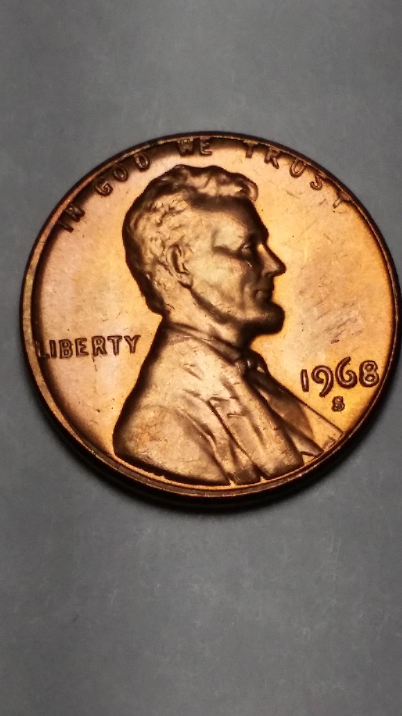 Error Coin Reverse 1955-S BU Lincoln Wheat Cent *Weak Strike*