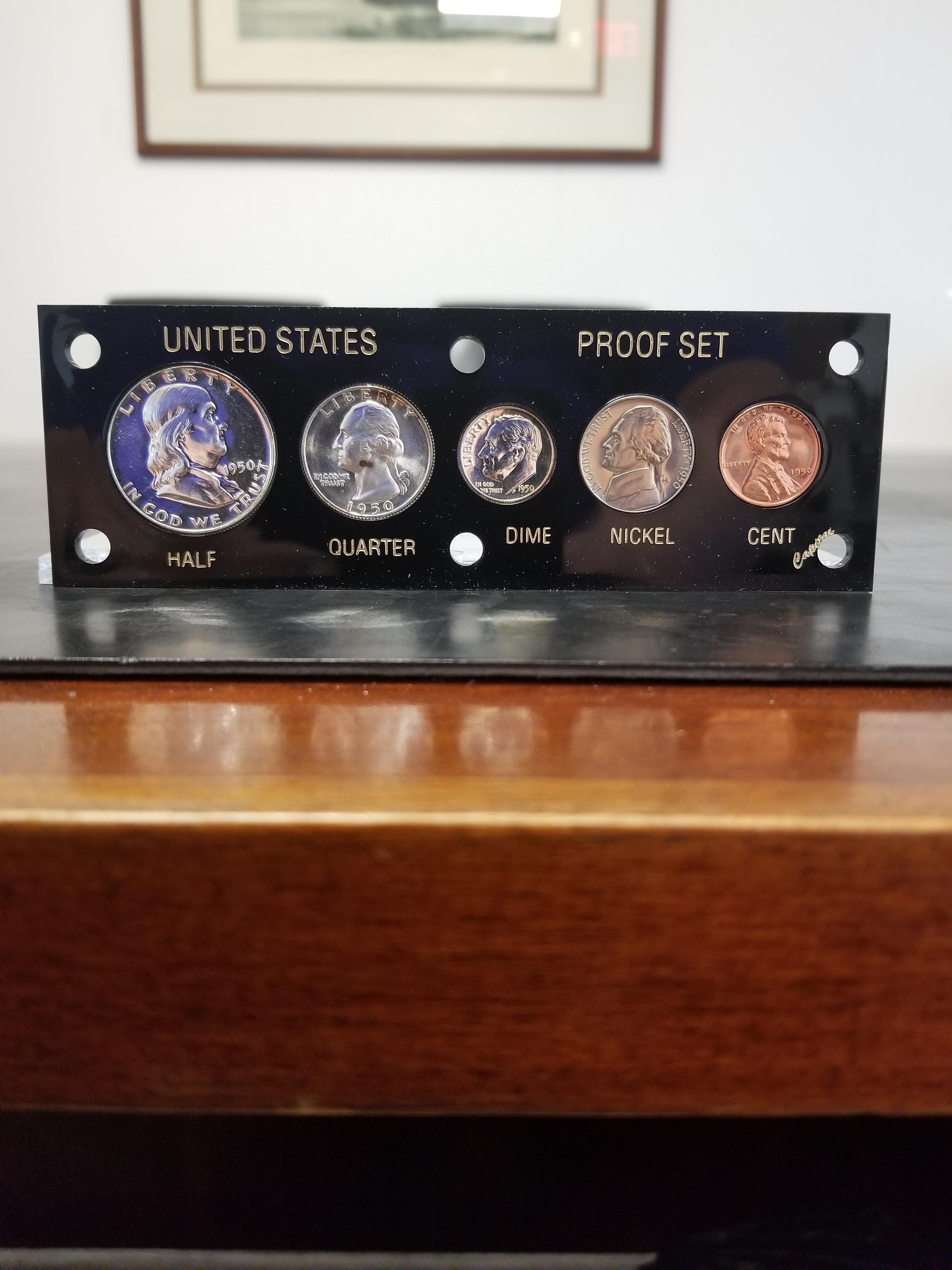 Half Quarter Dime Nickel /& Cent 1997-S US Proof Set