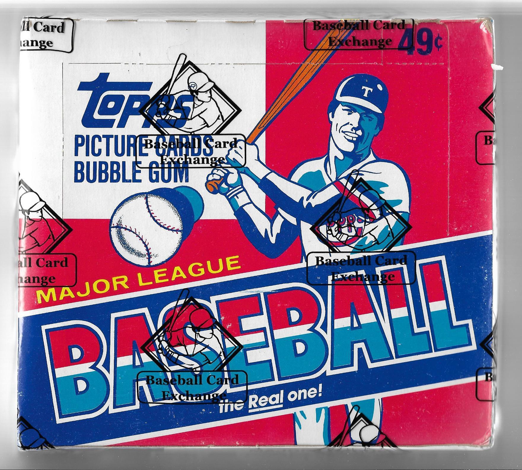 1981 Topps Baseball Cello Box Collectors Universe