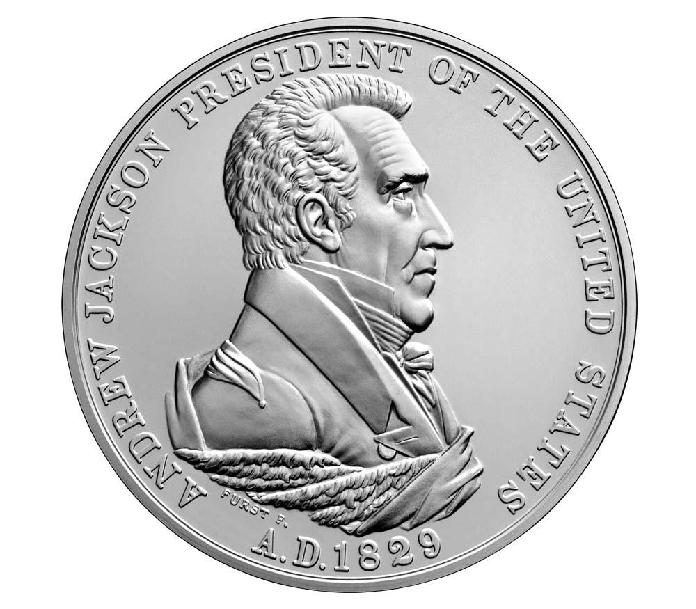 S806 2019 John Quincy Adams Presidential Silver Medal   Item Number