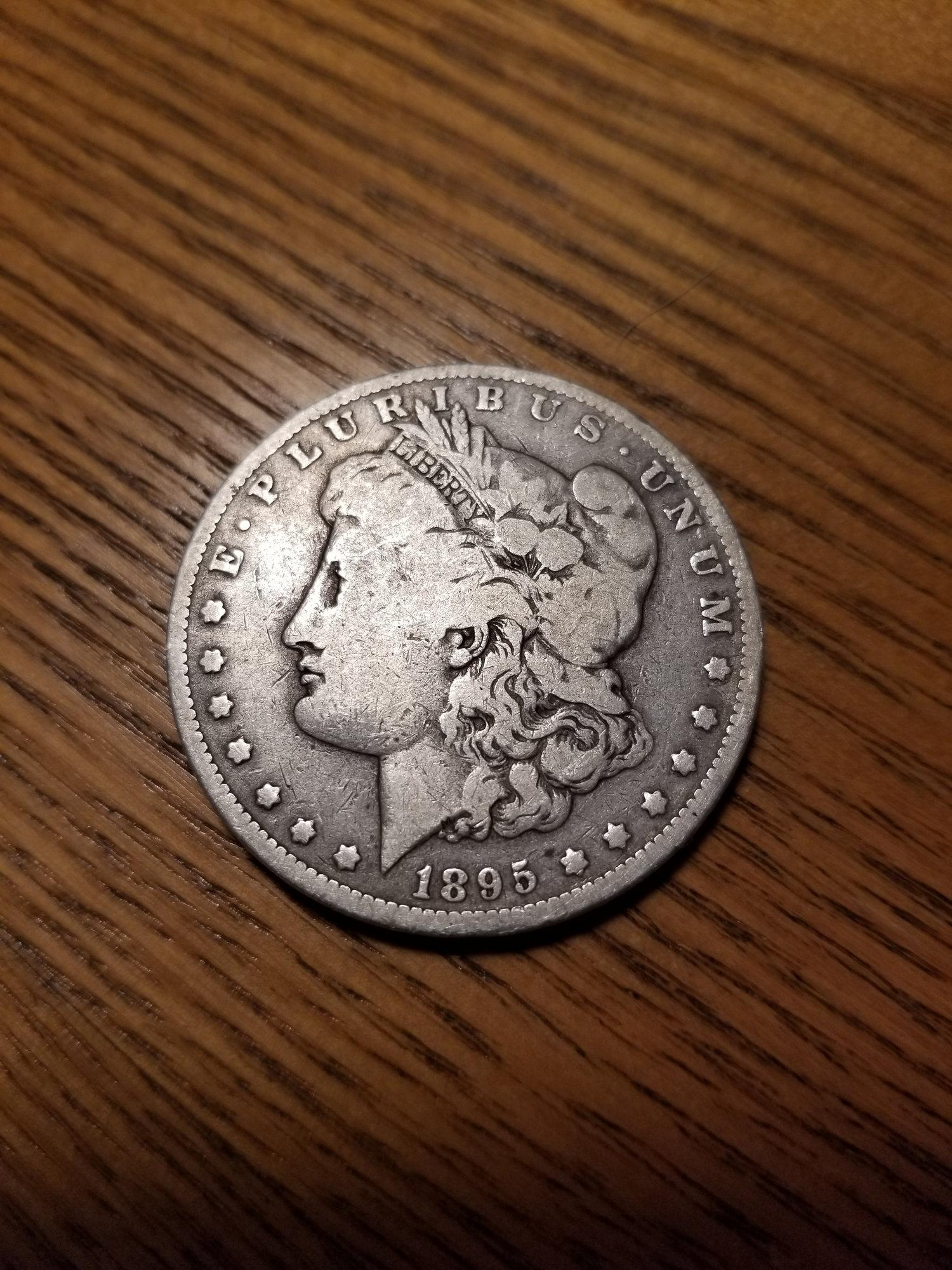 1895 ish morgan dollar — Collectors Universe