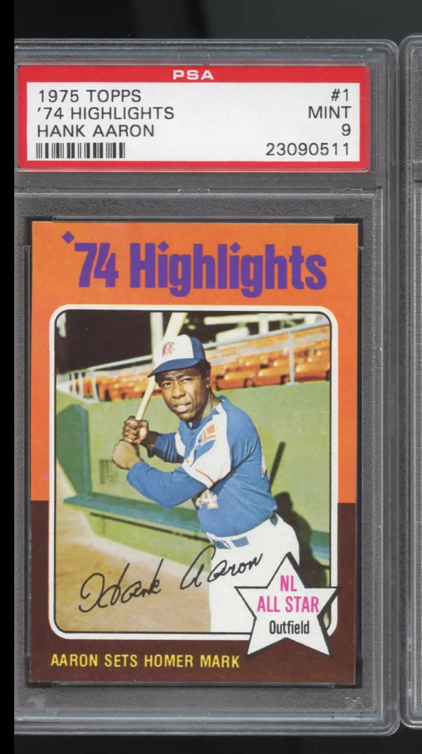 Top 5 Baseball Cards Of The 1970s Collectors Universe