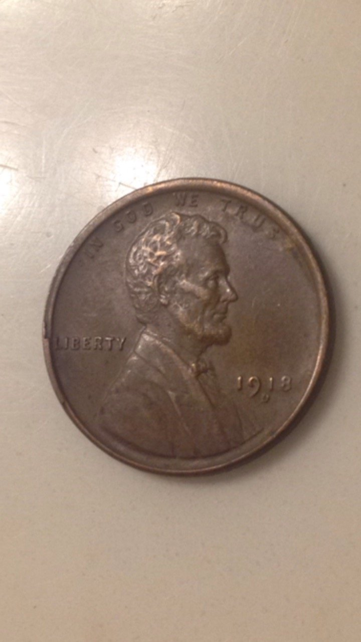 1934 D Lincoln Wheat Cent  ~ Very Fine Solid Album Coin ~ Brown