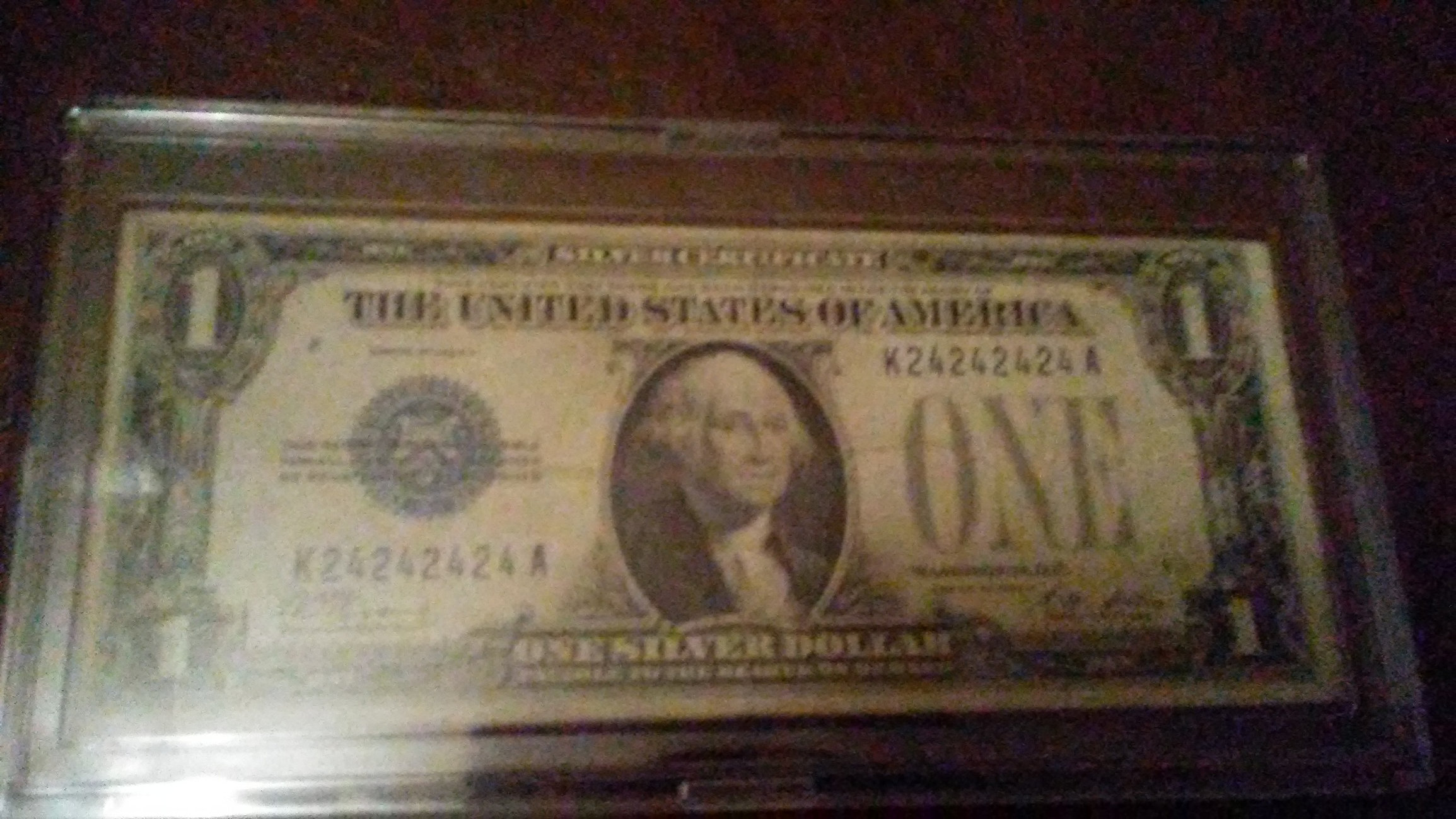 1928 Silver Certificate Serial24242424 Collectors Universe