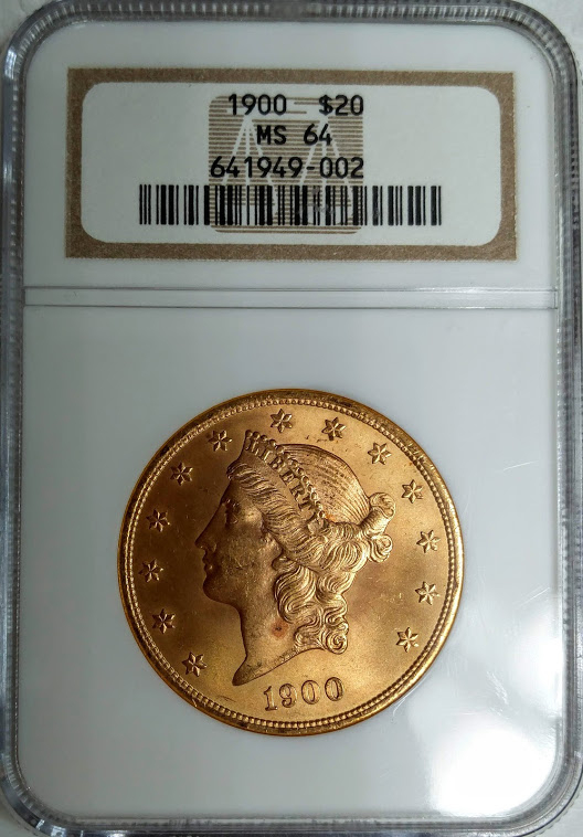 1900 $20 - NGC MS64 - $1597 Delivered - Getting closer to