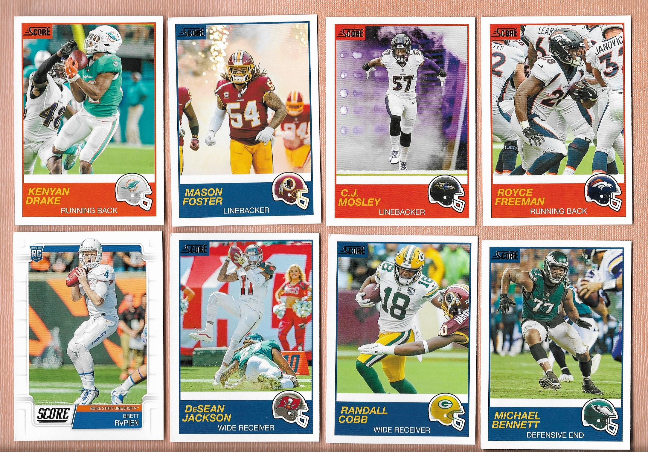 2019 SCORE Football Blaster Box — Collectors Universe