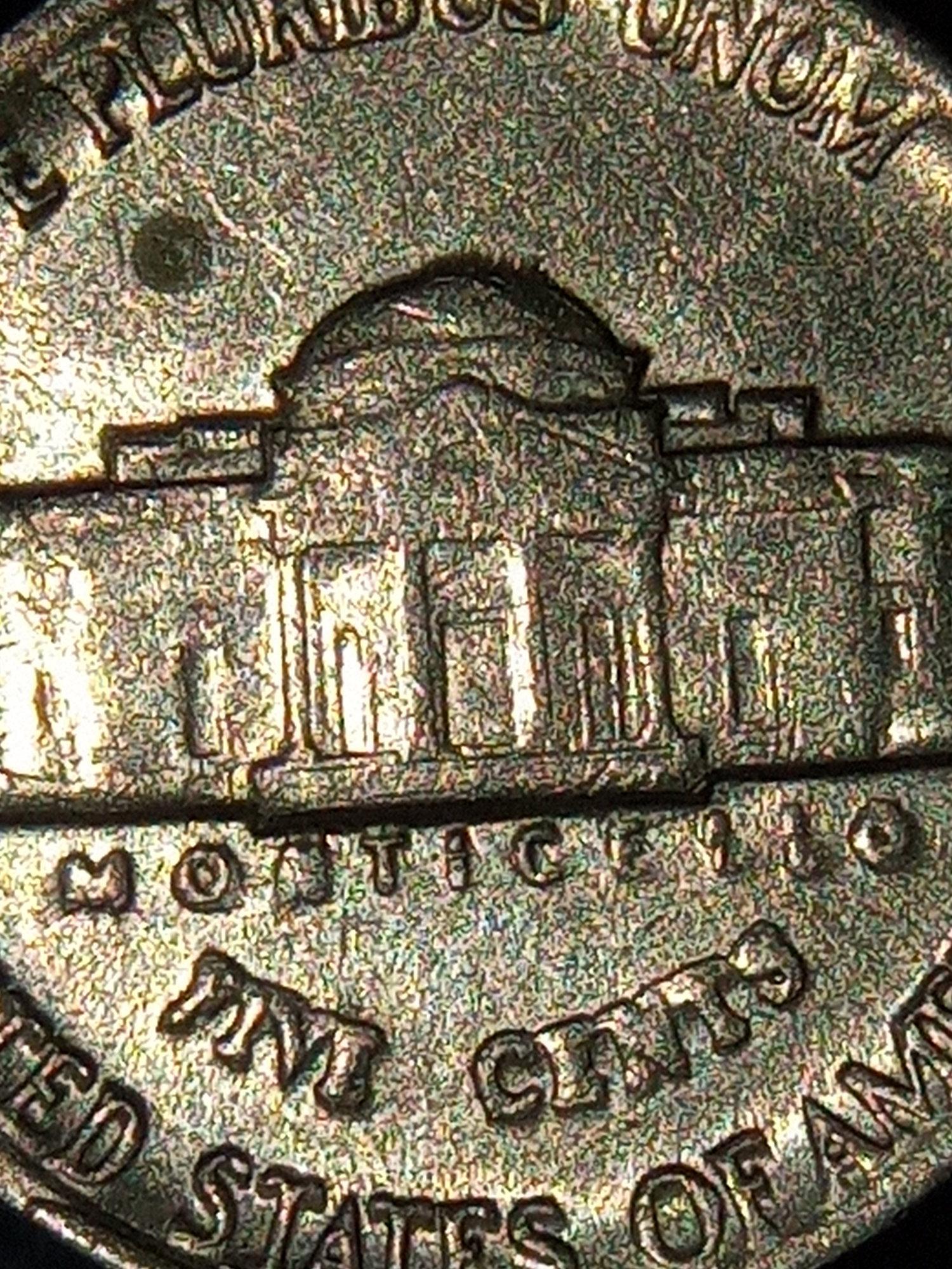 Jefferson nickel error 1984 — Collectors Universe