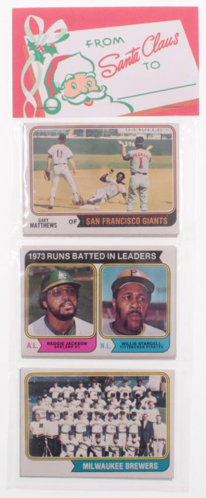 1974 Christmas Topps Baseball Rack Pack Fake Or