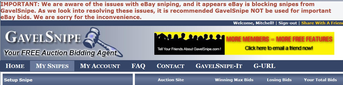 Has This Ever Happened To You Gavelsnipe Users On Ebay Collectors Universe