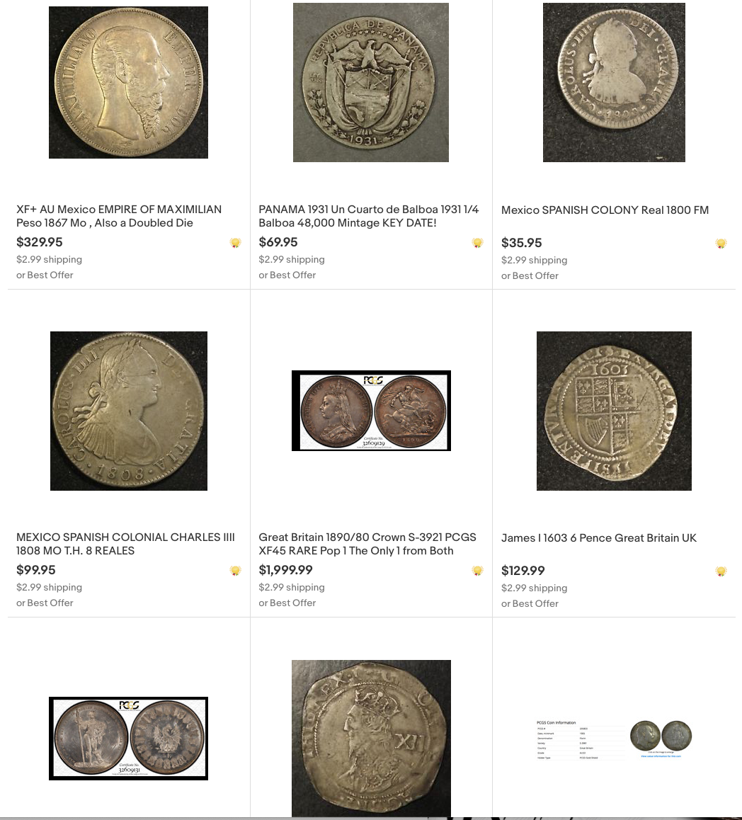 Trade Any Of My World Wide On Ebay For Us Key Coins Silver Gold Etc Lots Of Decent Items Listed Collectors Universe