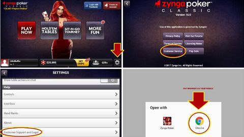 Zynga poker live chat customer support bookmaker poker rigged