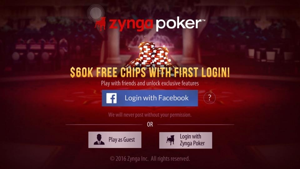 Zynga poker wont log in play slots for fun and free no download