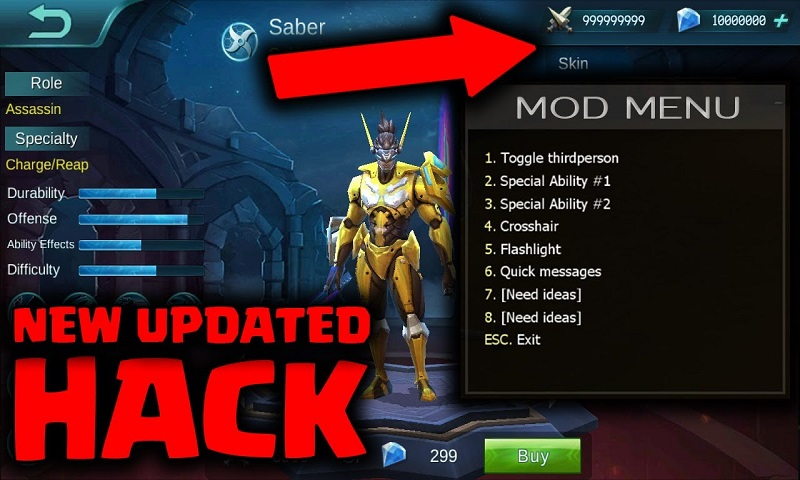 March 2019 Mobile Legends Hack Tool Unlimited Free Diamonds
