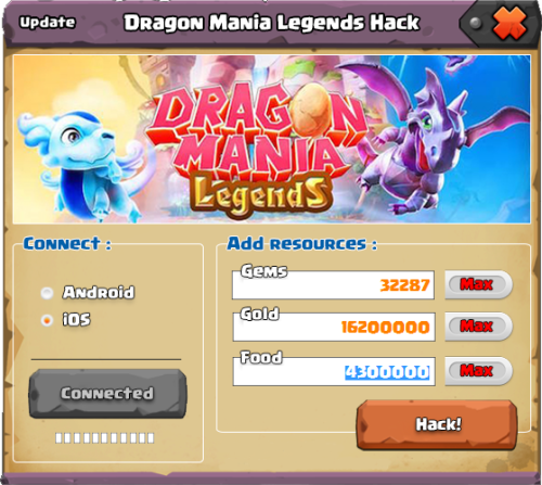 NEW* Dragon Mania Legends Hack Gems - How To Hack Dragon Mania