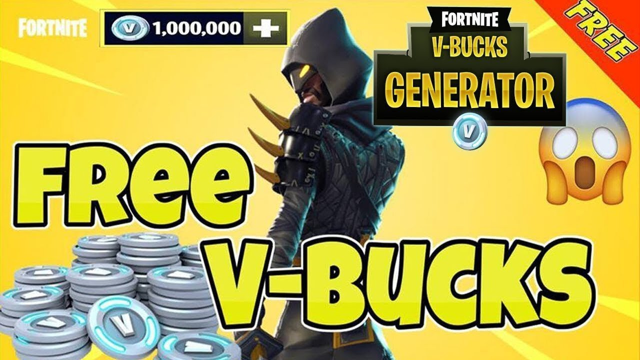 Fortnite Free V Bucks Hack Without Human Verification