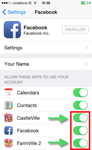 Facebook Connect issues on iOS — Zynga Casino