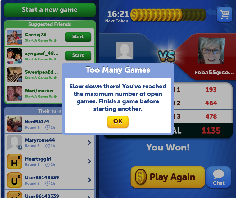 Word Streak with Friends — Zynga Games