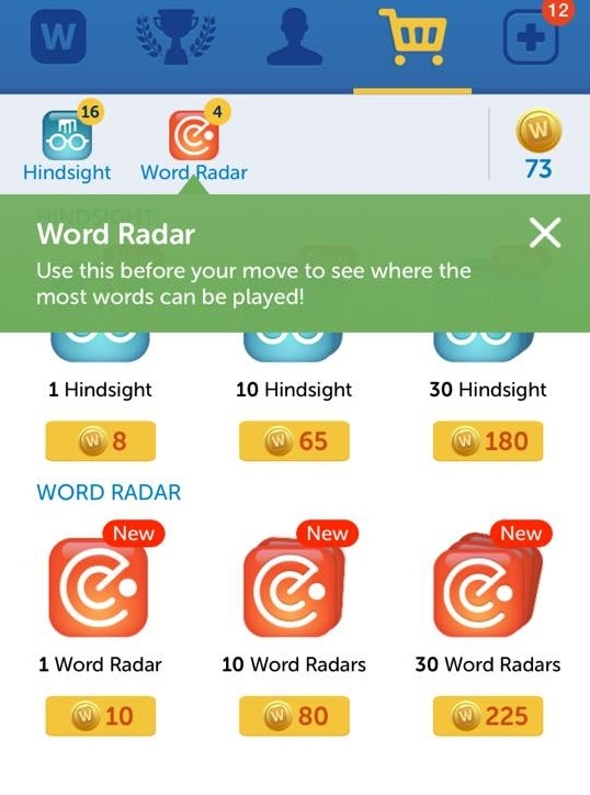 Heat Map — Words With Friends