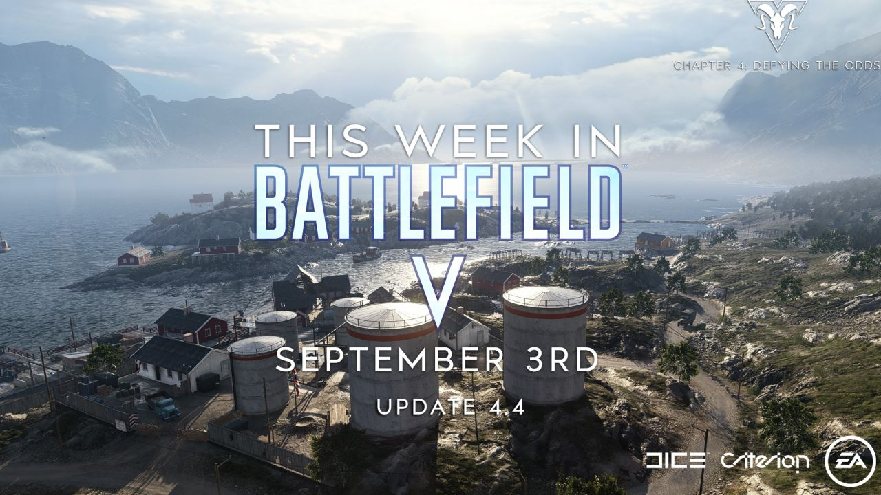 This Week in Battlefield V - September 3rd Edition - Update