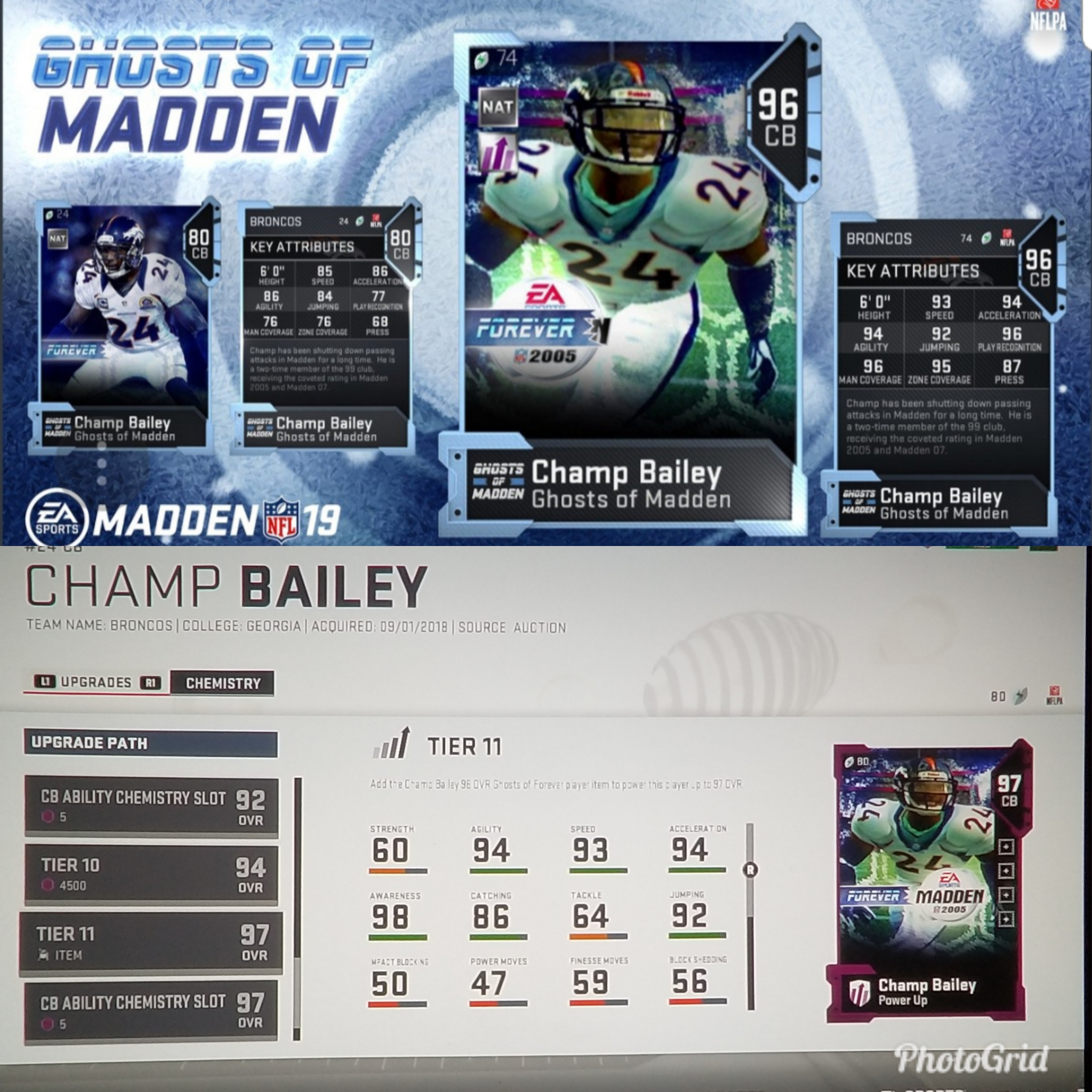 Champ bailey ghost of madden card not powering up when added jpg 2048x2048 Champ  bailey stats 1a6289180