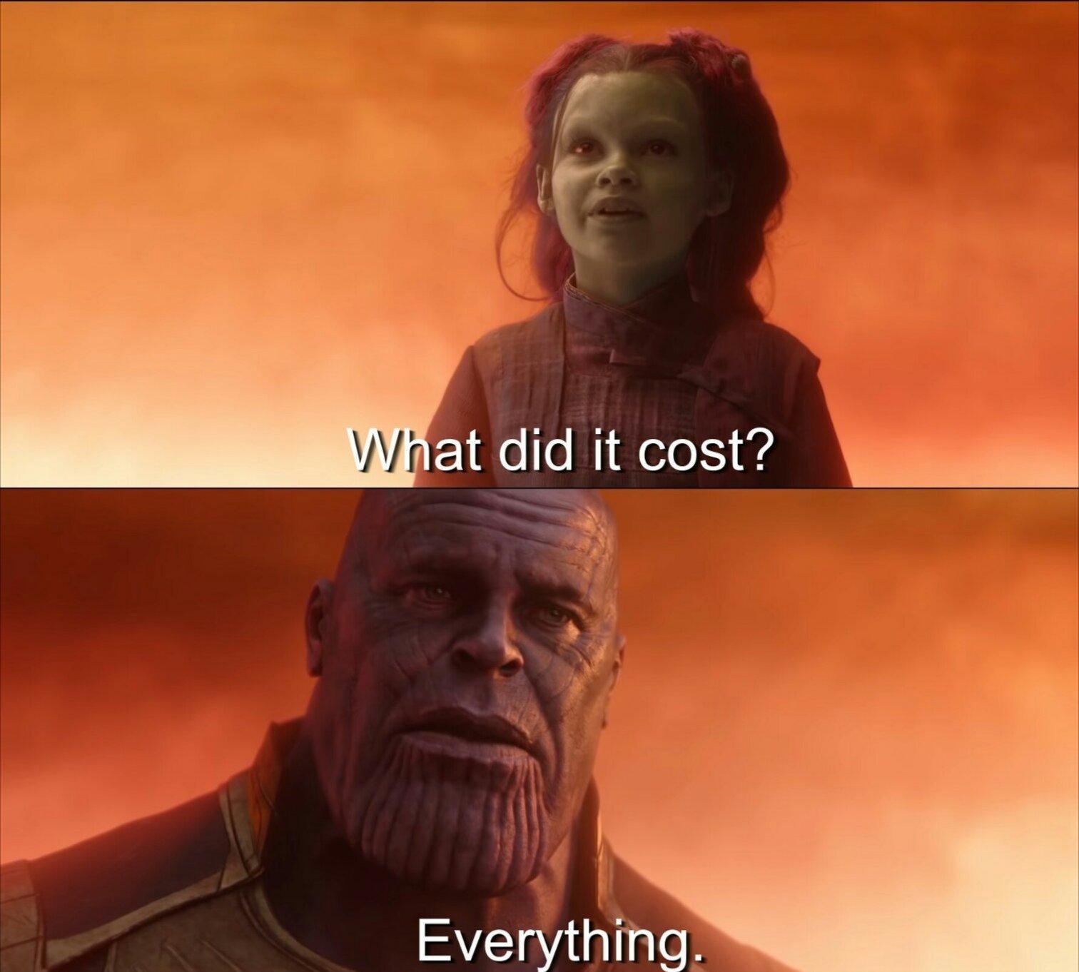 Resultado de imagem para what did it cost